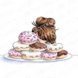 Tampon mochi donut girl Stamping Bella