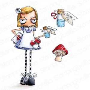 Tampon Oddball Alice in Wonderland Stamping Bella