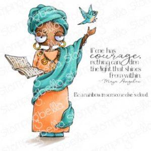Tampon Oddball Maya Angelou Stamping Bella
