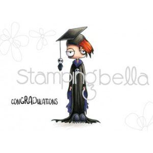 Tampon Oddball boy graduate Stamping Bella