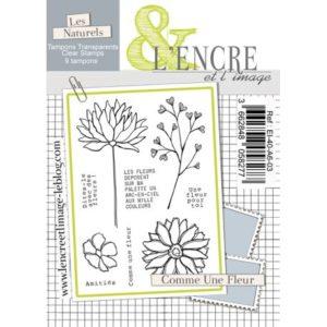 Tampon clear – Comme une Fleur – L'Encre et l'Image