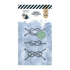 Tampon clear NŒUDS MARINS – Vue sur Mer – Florilèges Design