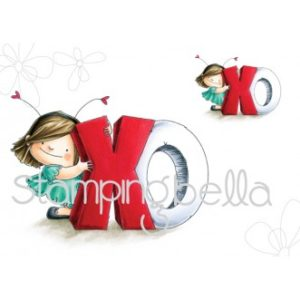 Tampon cling XO Squidgie Stamping Bella