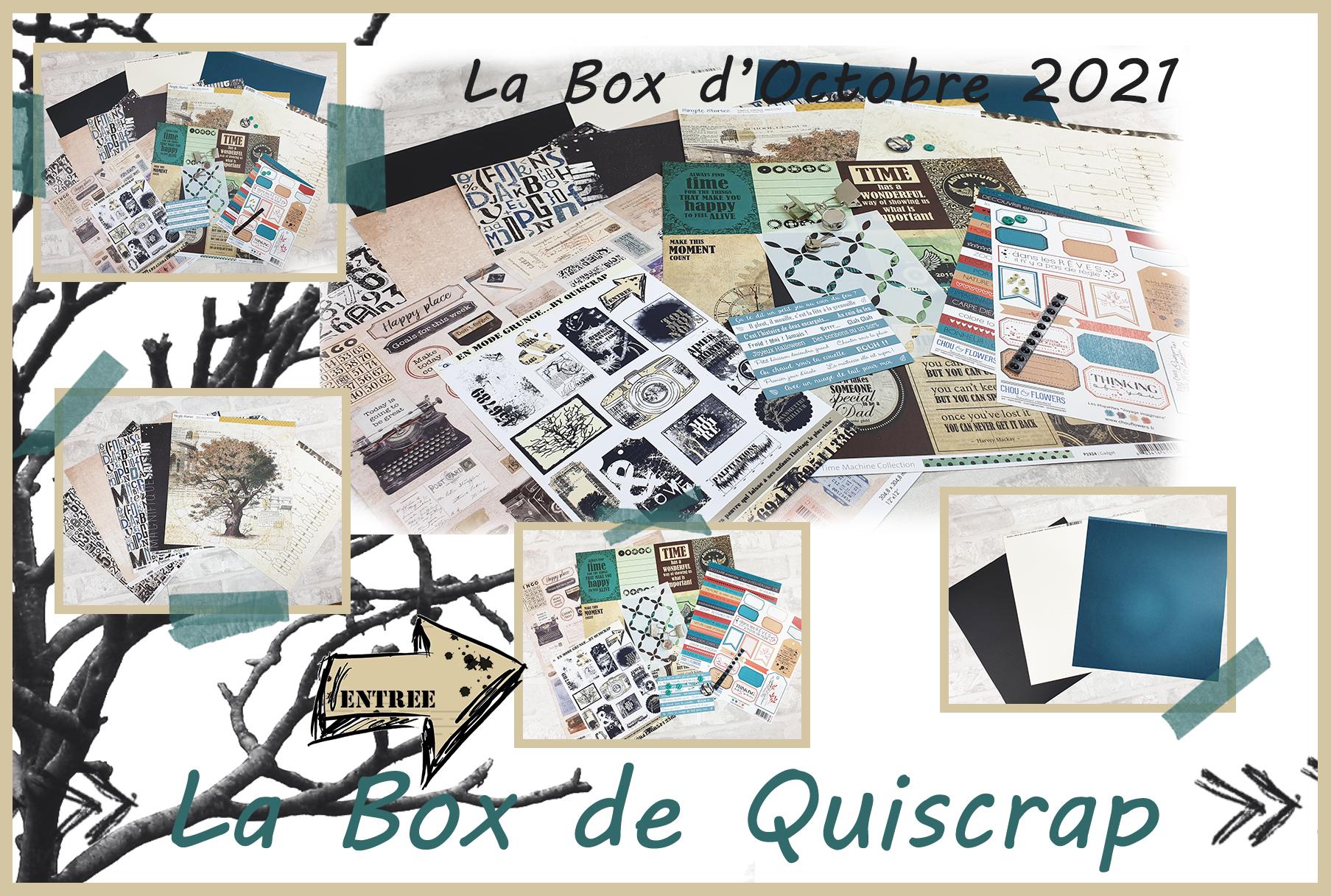 La Box d'Octobre 2021
