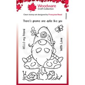 Tampons clear Gnome Forêt – Woodware Craft Collection –