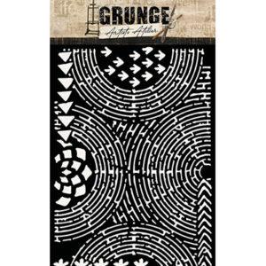 Pochoir Grunge n°14 Studio Light