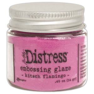 Poudre à embosser translucide 'Ranger – Distress' Kitsch Flamingo 14 g