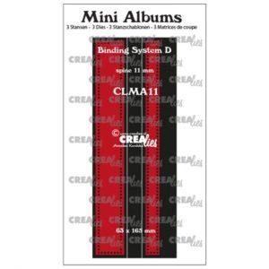 Dies Minialbum Crealies (système de reliure avec de petits cercles)