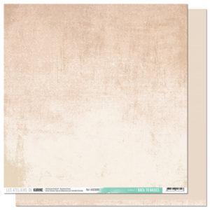 Papier Sable Collection Back to Basics Les Ateliers de Karine