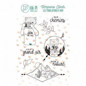 Tampons clear Hapi au grand air – HA PI Little Fox