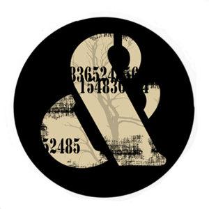 Badge Esperluette Grunge By Quiscrap