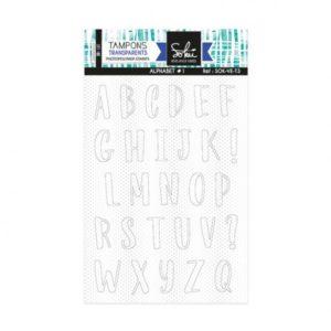 Tampons clear Voila l'été : Alphabet 1 – SOKAI