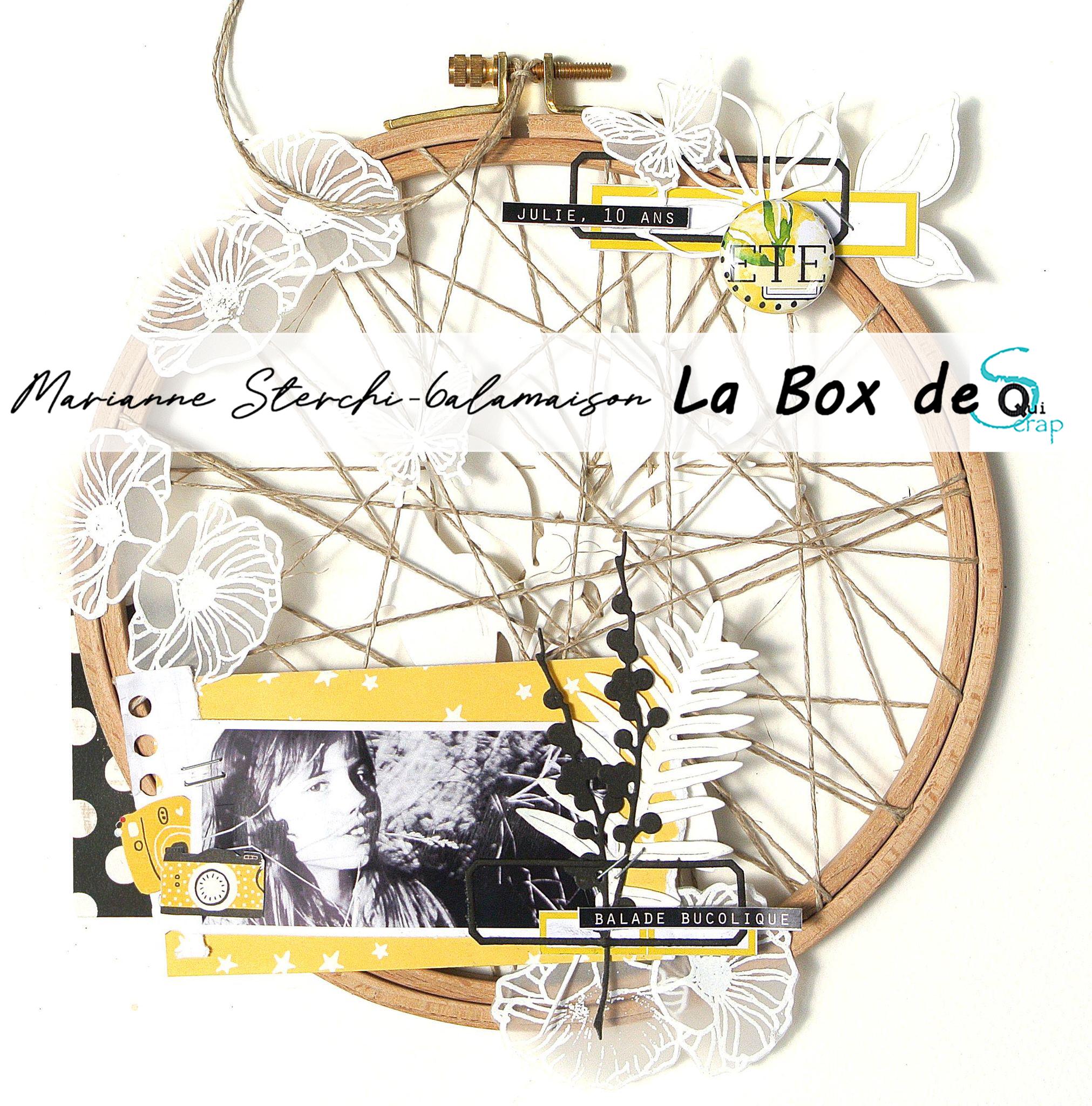 Tuto n°3 pour la Box d'Aout 2021 par Marianne Sterchi – 6alamaison: le HomeDeco
