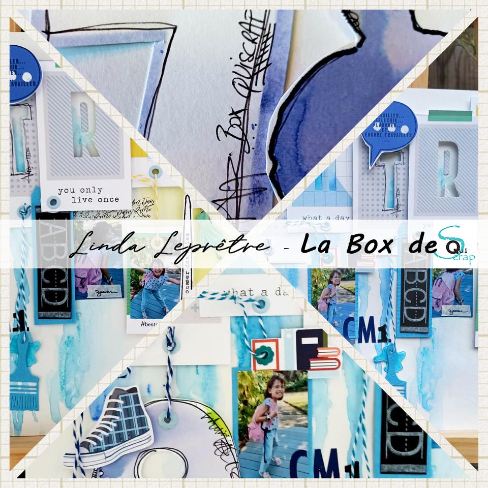 Tuto n°2 pour la Box de Septembre 2021 par Linda Leprêtre