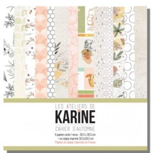 Cahier d'Automne La collection – Les Ateliers de Karine