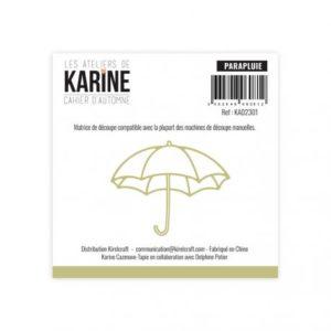 Die Cahier d'Automne Parapluie -Les Ateliers de Karine