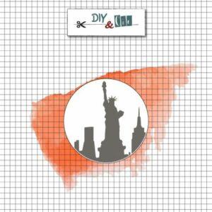 Sceau en laiton : New York – DIY and Cie