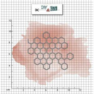 Dies : Nid d'abeille – DIY and Cie