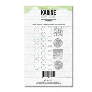 Tampon clear Cahier d'Automne Textures 2 – Les Ateliers de Karine