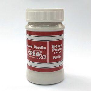 Gesso Blanc white Pâte CREAlies