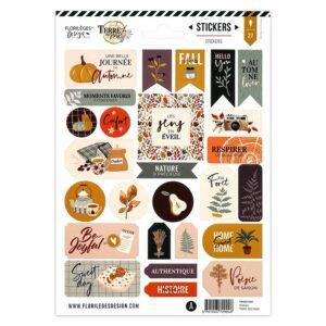 Stickers TERRE DES SENS Florilèges Design