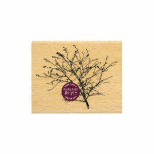 Tampon bois BRANCHAGE FIN Florilèges Design (collection Terre des Sens)
